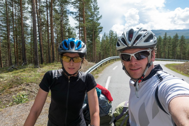 Us (Cycle Touring Norway 2016)