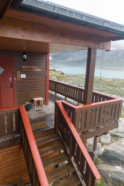 Veltdalshytta (Cycle Touring Norway 2016)