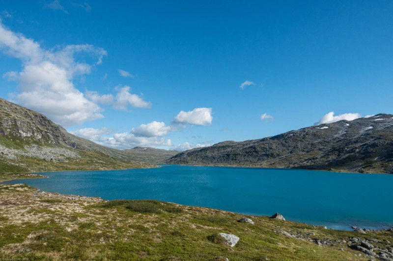 View of the lake (Cycle Touring Norway 2016)
