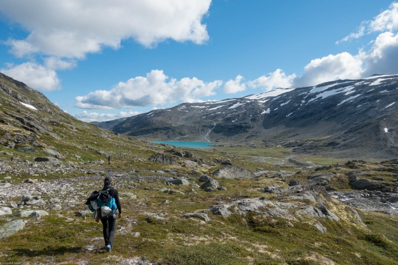 Walking out (Cycle Touring Norway 2016)