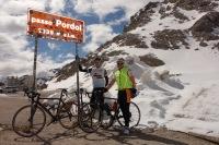 At passo Pordoi (Cycling Dolomites)