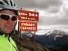 Back at passo Sella (Cycling Dolomites)