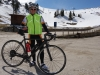 Cris and his road bike (Cycling  Dolomites)