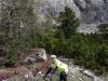 Cris posing (Cycling  Dolomites)