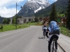 Cycling in the sun (Cycling Dolomites)