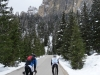 Heading up to passo Sella again (Cycling Dolomites)