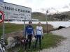 Marco and Thomas at Pellegrino (Cycling  Dolomites)