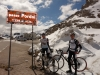 Marco and Thomas at Pordoi (Cycling  Dolomites)