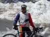 Snow by the road (Cycling Dolomites)