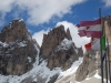Some flags (Cycling Dolomites)