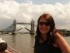 Darina on boat (London)