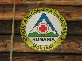 Alpine club logo (Fagaras Mountains)