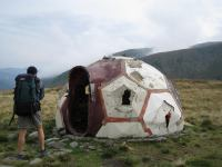Run down hut (Fagaras Mountains)