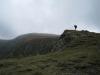 Mark on hill (Fagaras Mountains)
