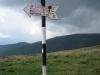 Sign post (Fagaras Mountains)