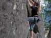 Birgit climbing (Oetz, Austria)
