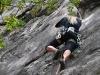 Emily climbing (Oetz, Austria)
