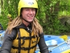 Michi at the rafts (Faszi Adventure, Haiming, Austria)