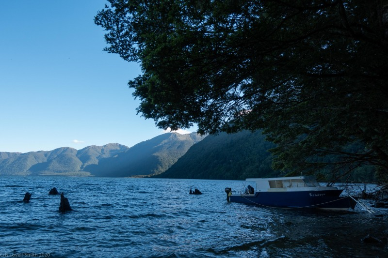 At the end of the lake (Fiordland Dec 2020)