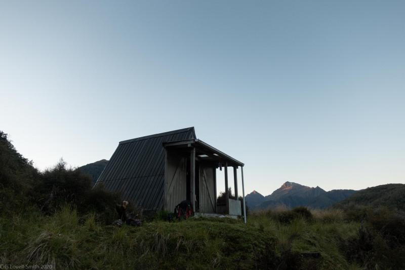 Clarke Hut (Fiordland Dec 2020)