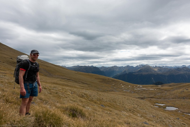 Cris tramping (Fiordland Dec 2020)