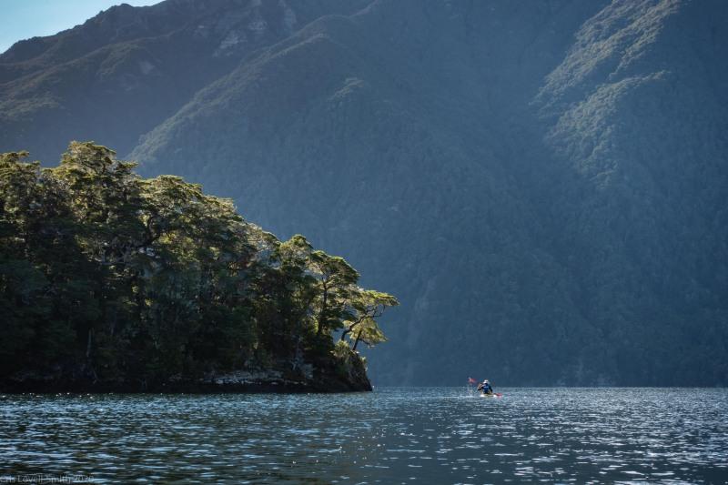 Kayaking away (Fiordland Dec 2020)
