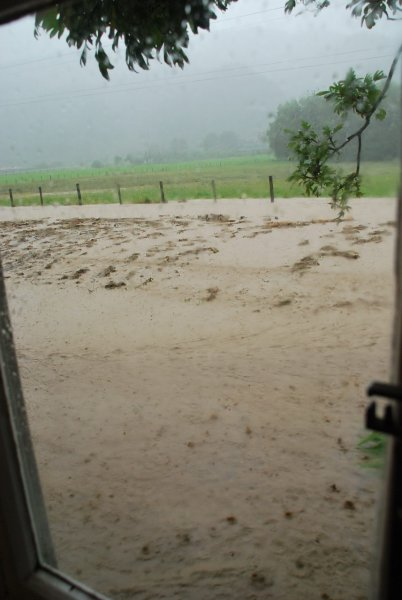 Flooding road (Ligar Bay)