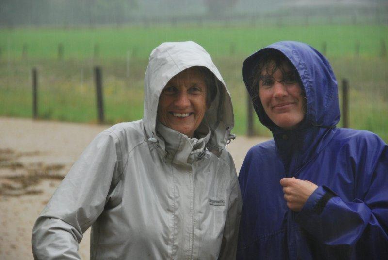 Mum and Gina (Ligar Bay)