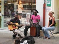 Street performers (Freiburg, Germany)