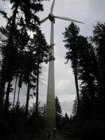 Wind turbine (Freiburg, Germany)