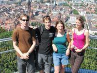 Brendan, Julian, Jana, and Julia (Freiburg, Germany)