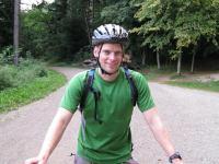 Cris and mountain bike (Freiburg, Germany)