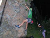 Cris climbing (Freiburg, Germany)