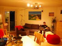 Julian in his flat (Freiburg, Germany)
