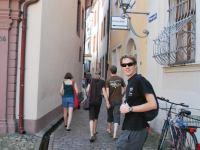 Julian in the Altstadt (Freiburg, Germany)