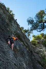 Cris on top rope (Paynes)