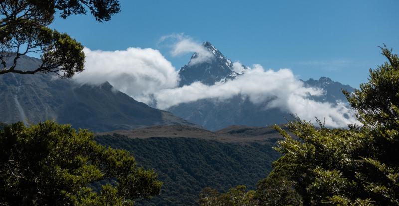 A very european looking mountain (Greenstone-Caples Jan 2021)