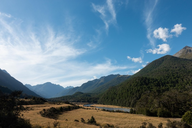 View from Mid-Caples Hut (Greenstone-Caples Jan 2021)