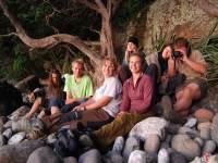 The crew (Hen Island)