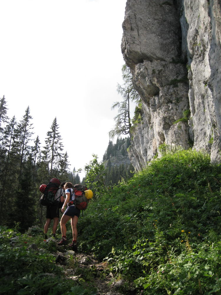 Ascending (Triglav Nat. Park, Slovenia)