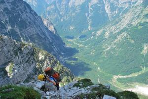 A long way down 2 (Triglav Nat. Park, Slovenia)