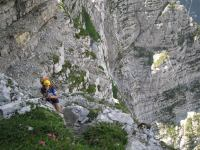 A long way down (Triglav Nat. Park, Slovenia)