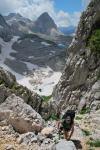 Climbing 2 (Triglav NP, Slovenia)
