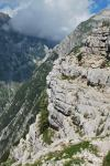 Cris on cliffs (Triglav Nat. Park, Slovenia)