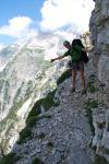 Cris poses (Triglav NP, Slovenia)
