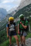 Em + Cris being nongs (Triglav Nat. Park, Slovenia)