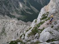 Em with biv below (Triglav Nat. Park, Slovenia)