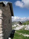 Huts (Triglav Nat. Park, Slovenia)