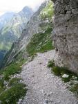 Route (Triglav Nat. Park, Slovenia)