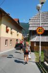 Walking into town (Triglav Nat. Park, Slovenia)